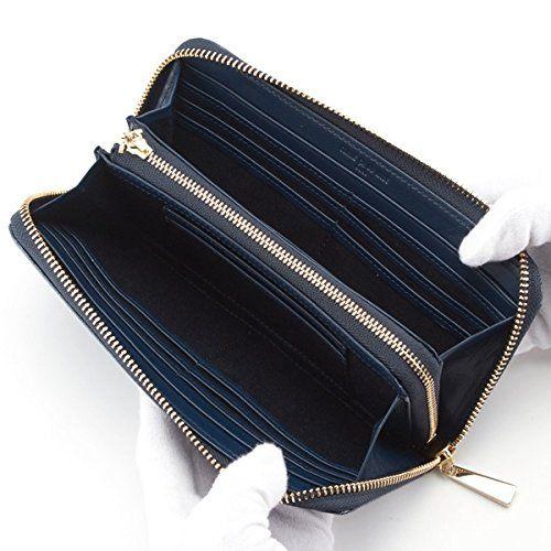 Amazon | コムサデモード・サック(COMME CA DU MODE SACS) ラウンドファスナー長財布【ネイビー/**】 | レディースバッグ・財布 通販