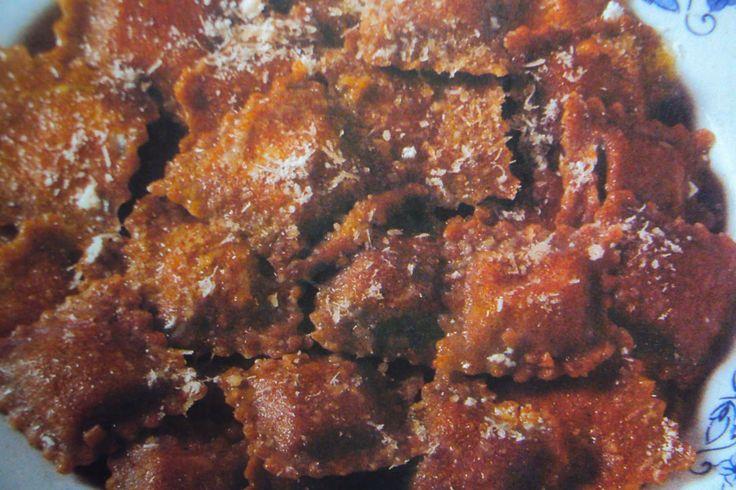 le ricette di chycca: Ravioli alla farina di segale
