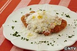 もこみち流 豚肉のカツレツ~粒マスタードソースとチーズかけ~