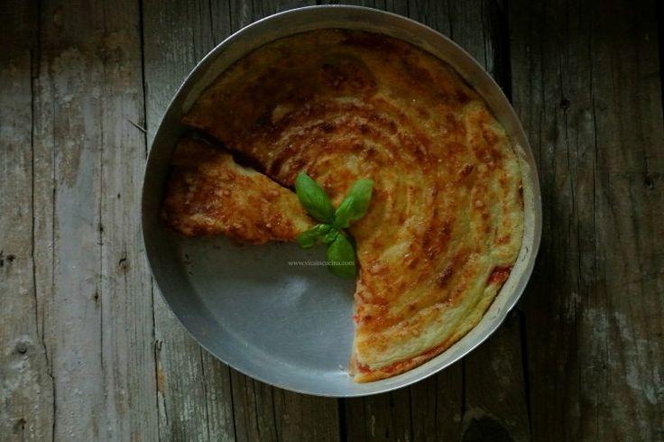 Gattò di patate Light con pomodoro e mozzarella | vicaincucina