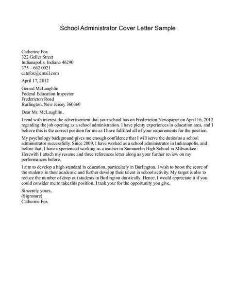 School receptionist cover letter http jobresumesample for Writing a cover letter for a receptionist position