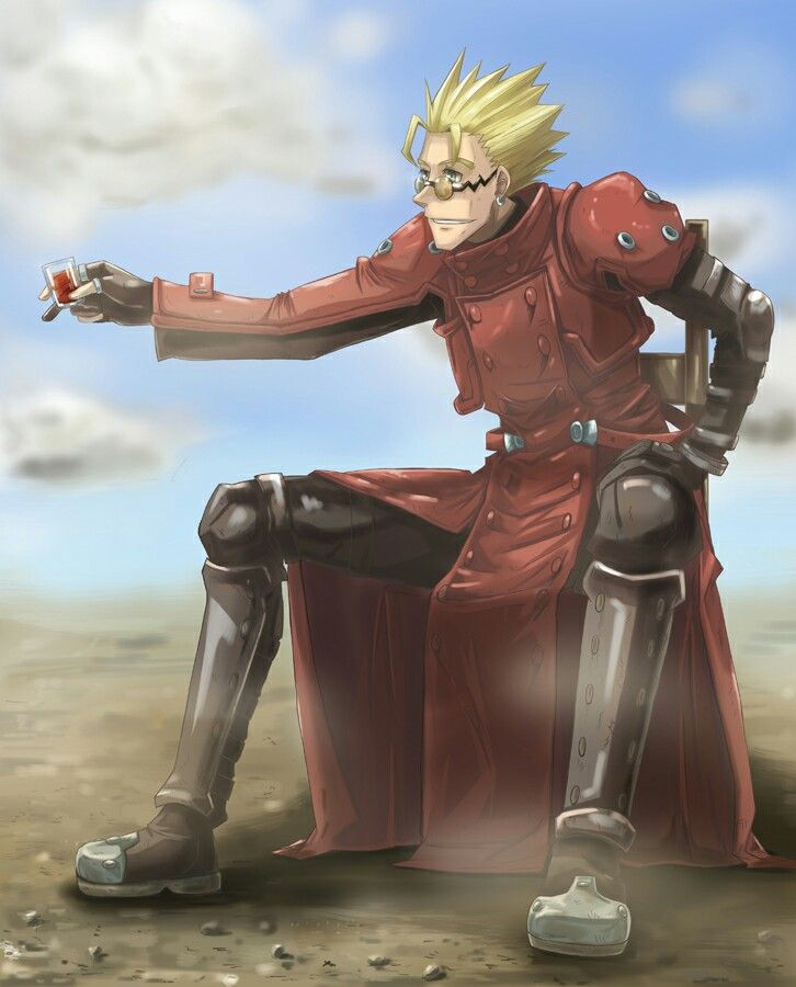 Tags Anime Trigun Vash The Stampede Orange Train