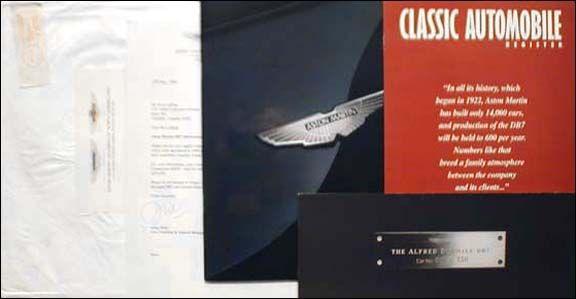 Best Aston Martin Sales Literature  Aston Martin Brochures And