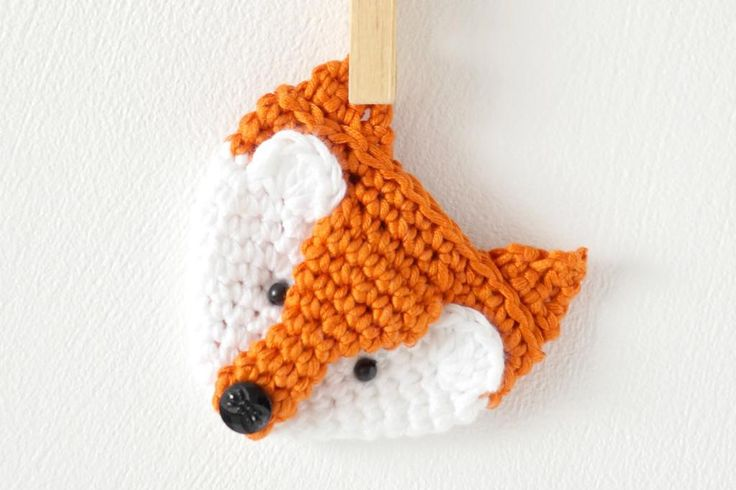 Looking for your next project? You're going to love Fox Brooch Badge Pin by designer Little Doolally. - via @Craftsy