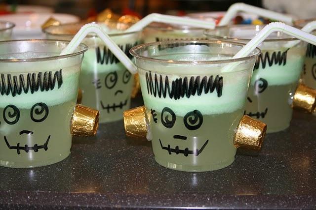 Frankenstein Punch (Lime Sherbert Punch)