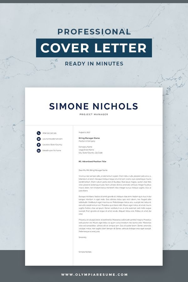 Istant Manager Resume | Professional Resume Template For Word Mac Pages 1 And 2 Page
