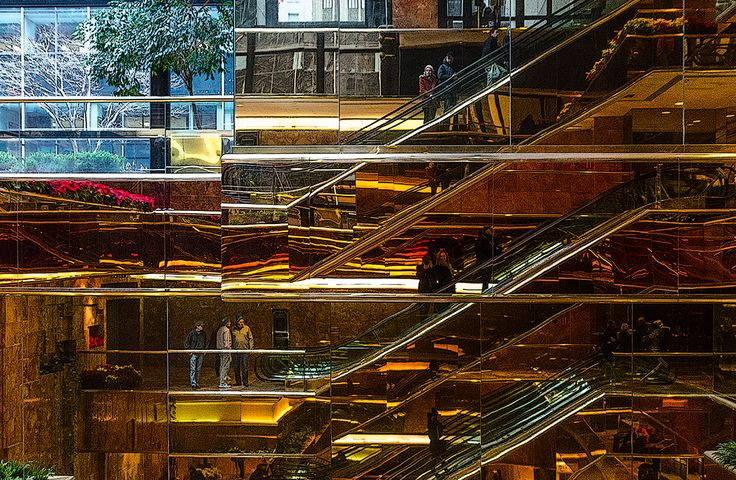 Trump Tower escalators