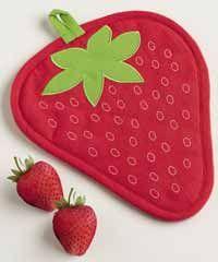 Strawberry Potholder