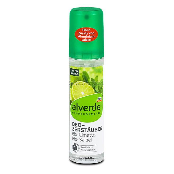 ALVERDE Natural Cosmetics Deodorant Spray Organic Lime & Sage 75 ml | Get Some Beauty