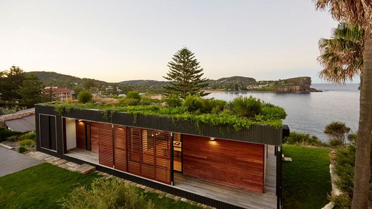 Erected over a period of six weeks by Archiblox, the two-bedroom abode was sustainability-driven throughout, from the initial decision to go prefab to the hardwood cladding milled from sustainable forestry methods.