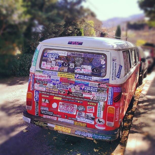 My vw camper van