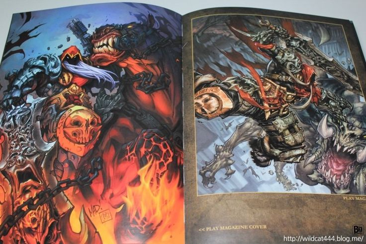 The Review of The Art of DARKSIDERS | Big Brother Story