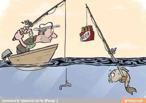 Fish humor! Funny!!