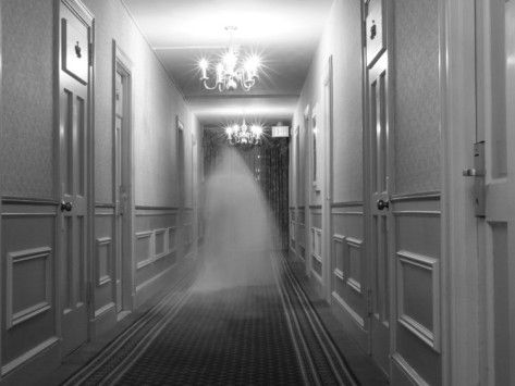 Ghost in the Hall at the Hawthorne Hotel                                                                                                                                                                                 More