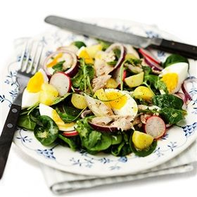 Why not combine yummy and healthy in one salad?