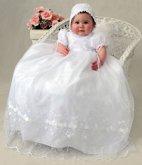 BABY GIRL GOWNS Blessing Christening Baptism Baby