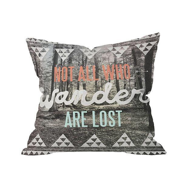 Free Spirits Outdoor Throw Pillow | dotandbo.com