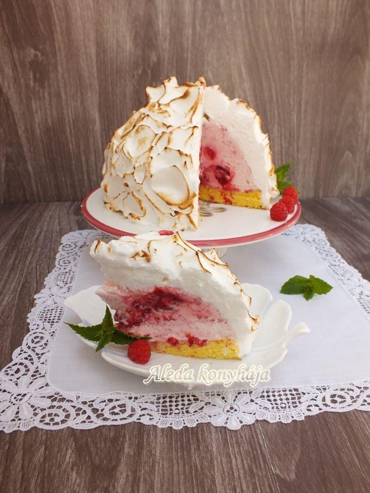 Aleda konyhája: Alaszka torta avagy a Lángoló fagylalttorta