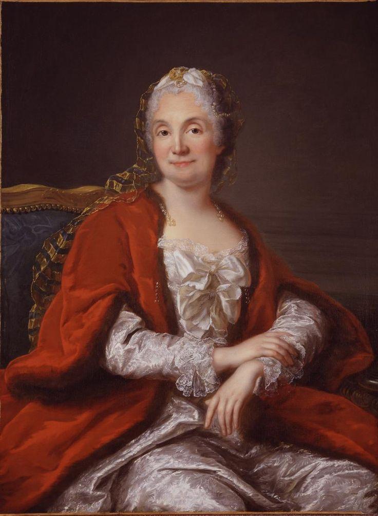 Presumed Portrait of Madame Geoffrin, Marianne Loir, ca. 1750; NMWA
