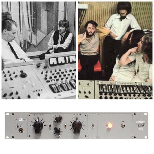 Recreation of the original valve line amplifiers used in Abbey Road Studios' heralded and rare EMI REDD.51 recording consoles circa 1959-1968