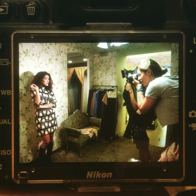 Back stage - new shooting - i soldi spicci - the show must go on