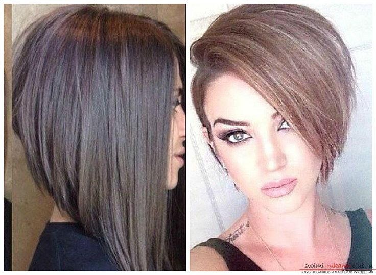 Стрижки на короткие волосы без укладки фото