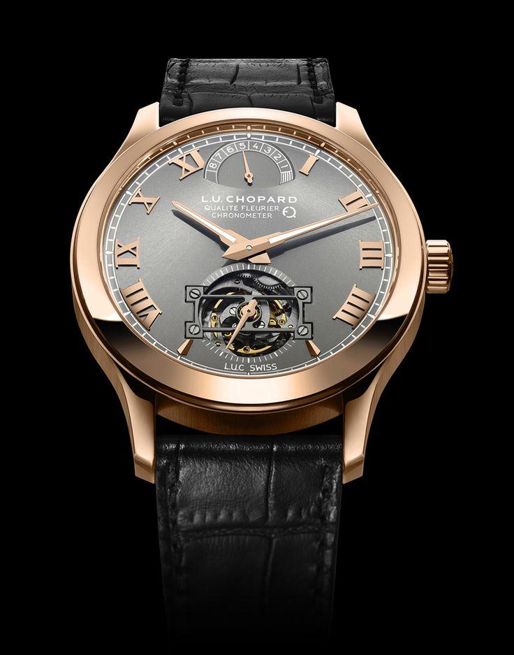 El primer reloj en oro ecológico del mundo es de Chopard.