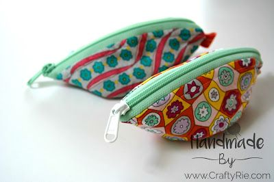 quick & easy bowl/pouches to make for gifts.