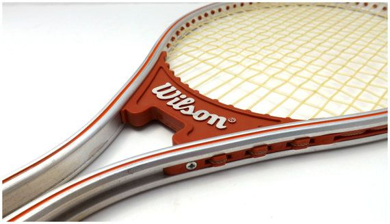 Wilson Tennis Racquet Vintage Sport Equiptment by JoyousVintage, $12.00