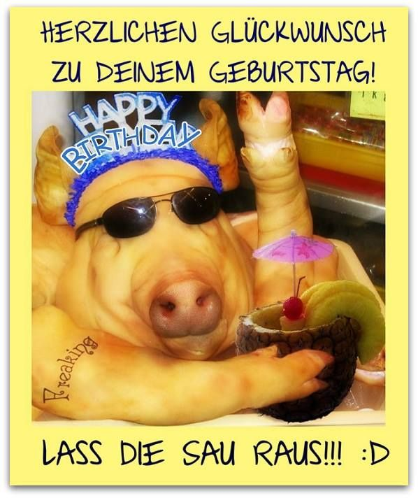 Herzlichen Glückwunsch Zu Deinem Geburtstag! Happy Birthday ...