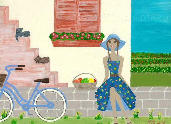 Market day by Shona B on Etsy