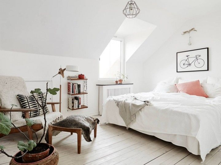 Visite d'un appartement à la déco scandinave éclectique