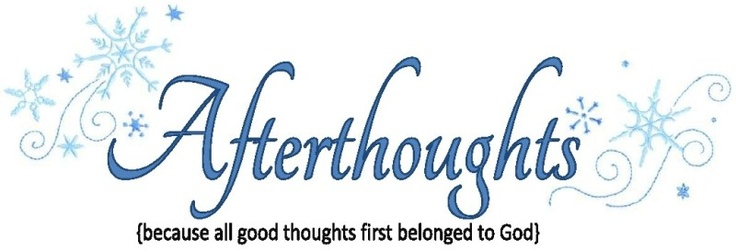 afterthoughts list - 100 kindle books