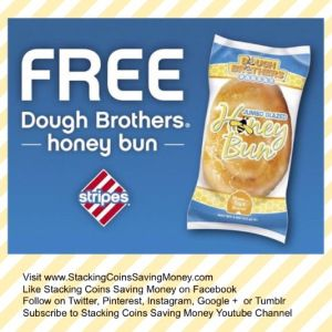 FREE Pastry Coupons - Free Dough Brothers Bakery Glazed Honey Buns At Stripes Convenience Stores - STACKING COINS SAVING MONEY SCSM #Honey #HoneyBun #Pastries #Coupons #Facebook #Stripes #ConvenienceStores #Texas #Oklahoma #NewMexico #StackingCoins #SavingMoney #StackingCoinsSavingMoney #SCSM
