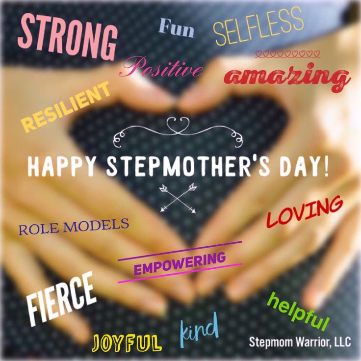 """Wishing all of my fellow stepmoms a Happy Stepmother's Day! I honor all of you for all you do in your """"mothering"""" role. Stepmotherhood is rewarding and challenging. Somedays…"""