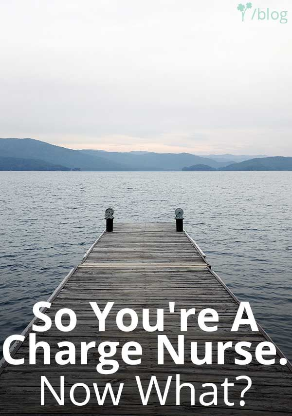 Youu0027re a charge nurse now what 168