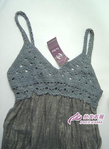 crochet bodice...: Crochet Fashion, Crochet Dresses, Crochet Bodice, Crochet Tank Tops, Crochet Tanks Tops, Crochet Tops, Tops Crochet, Crochet Clothing, Crafts Crochet Knits