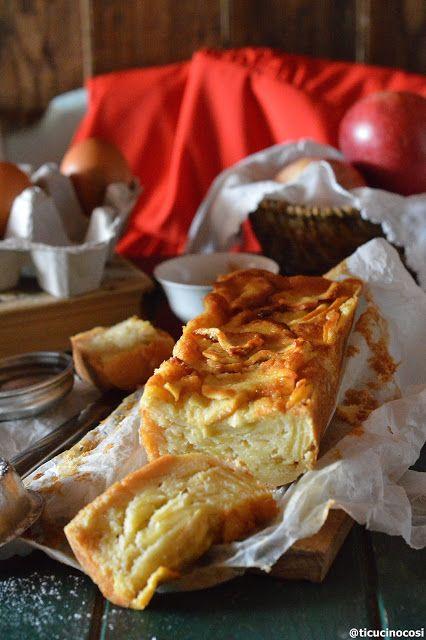 Una torta ormai rivista sul web, ma davvero una delle migliori varianti di torte di mele degli ultimi tempi,si dice che l'idea sia della b...
