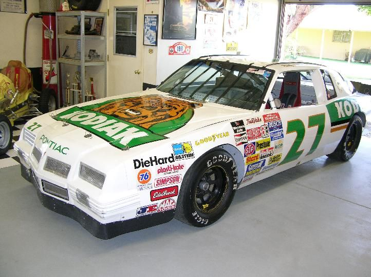 The Kodiak stock car below was raced by Rusty Wallace and comes from a famous period in NASCAR racing. Description from bringatrailer.com. I searched for this on bing.com/images