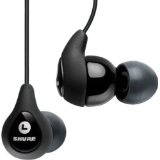 Shure SE110 Sound Isolating Earphone with Balanced Armature Driver (Black) (Electronics)By Shure