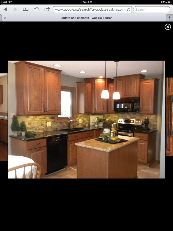 Update dark oak kitchen cabinets for Dark oak kitchen cabinets