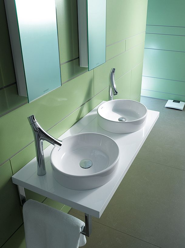 Unique Designer Sinks repairing tub and shower faucets wall mount lavatory faucet Starck 2 Philippe Starck Duravit