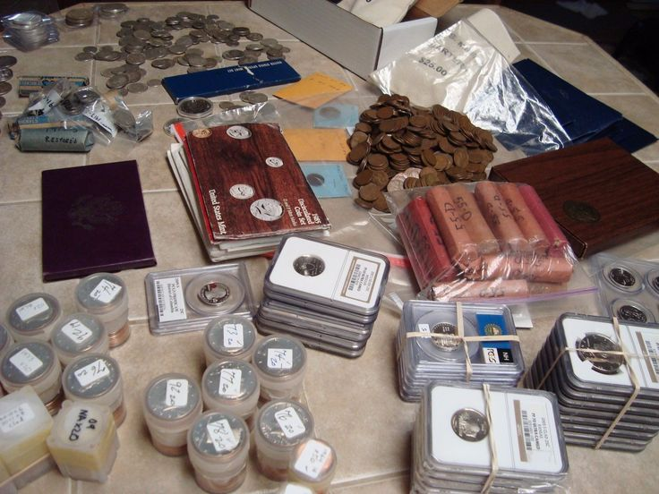 #coins ESTATE SALE 40 COINS COLLECTION, MINT SETS, GOLD, SILVER, PF70 COIN LOT #6-1w8 please retweet