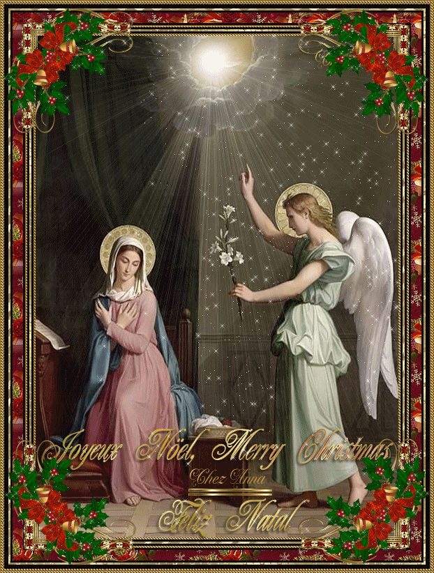 L'Annonciation de l'Ange Gabriel à la Sainte Vierge Marie