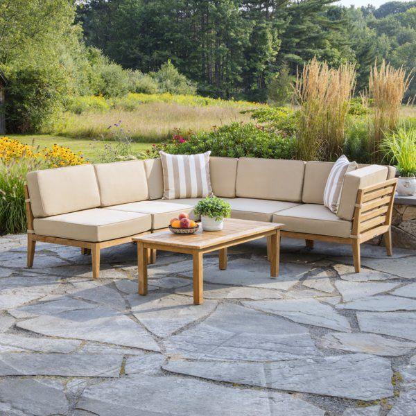 Rustic Teak Outdoor Furniture Ideas On Foter Teak Patio Furniture Outdoor Sofa Sets Backyard Furniture