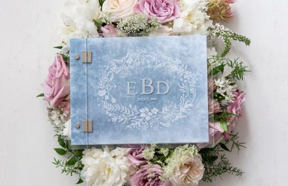 Velvet wedding stationery ideas your guests will swoon over.