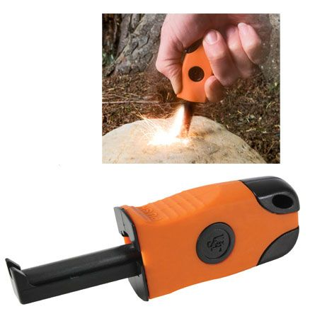 Camping Fire Starters Sparkie One Hand Fire Starter Made in the USA $19.95