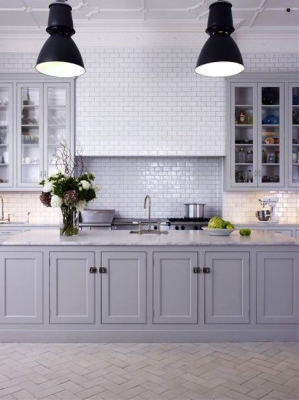 15 Stunning Gray Kitchens - Style Me Pretty Living