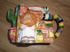 southwestern/mexican themed teapot | eBay