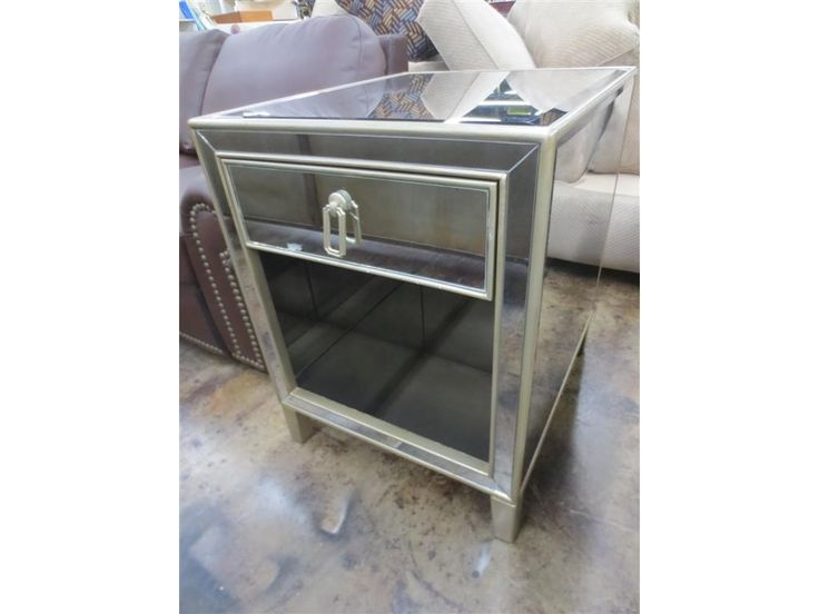 Clearance Mirror Table DK470847-5 from Walter E. Smithe Furniture + Design